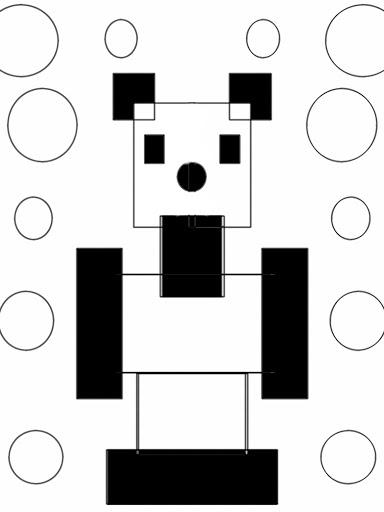 Modern panda