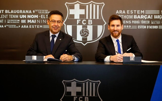 THE SECRETS BEHIND MESSI'S NEW CONTRACT