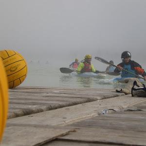 Entraînement kayak polo