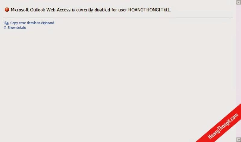 Cấu hình giao thức người dùng truy cập mail