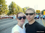 Mike and I before the race