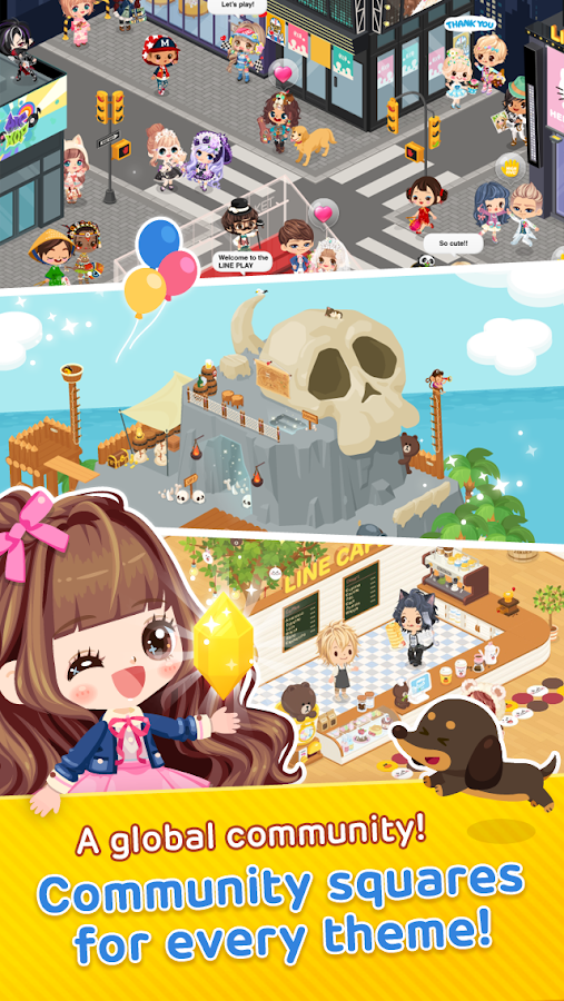 LINE PLAY - Your Avatar World- screenshot