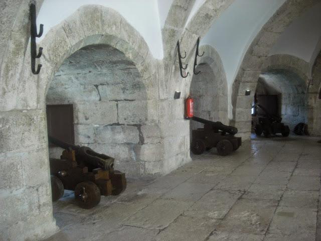Cañones en la Torre de Belem