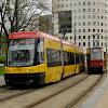 04-05-2013 | Warszawa | Tramwaje Warszawskie, PESA Swing i Konstal 102Na
