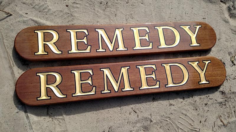 Quarterboards for Remedy - Gold Leaf