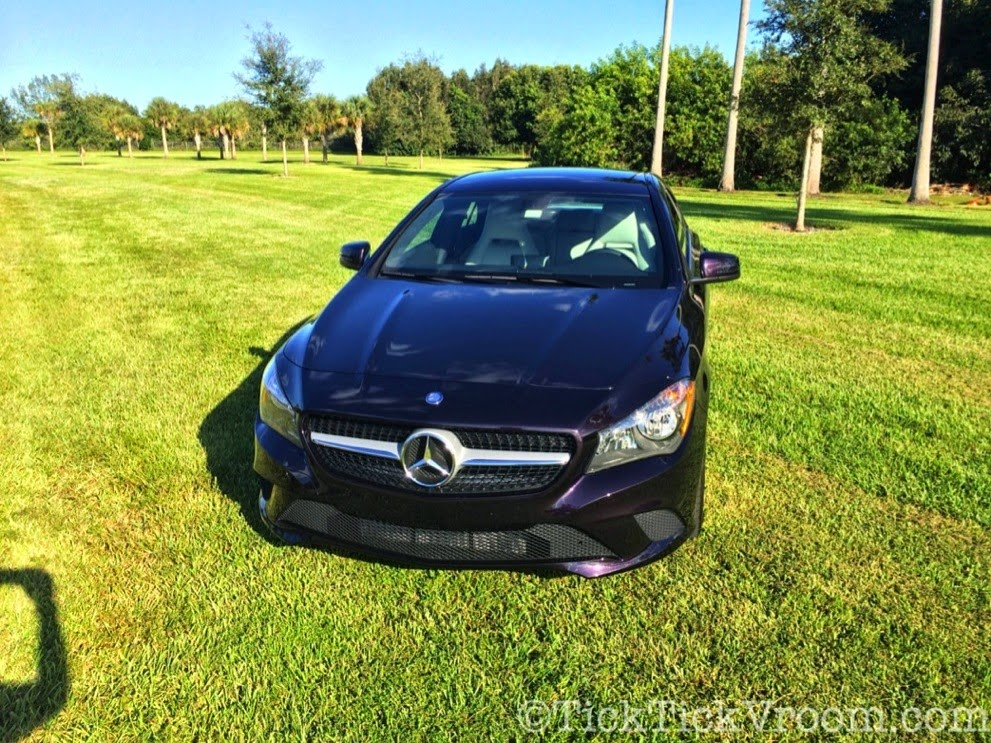 2014 Mercedes-Benz CLA250 Long-Term Test Car - Northern Lights Violet Metellic Long Term Review Road Test 4045 2