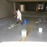 La Jolla Presbyterian Deck Waterproofing - 20131127_121210