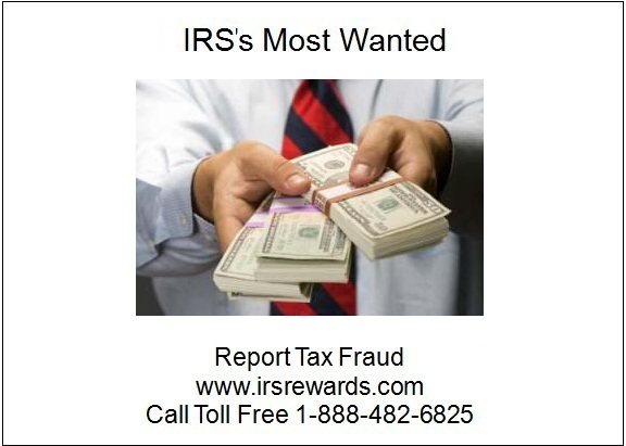 IRS's Most Wanted - Report Tax Fraud: February 2011