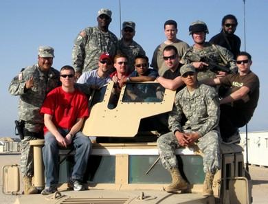 Kuwait - American troops
