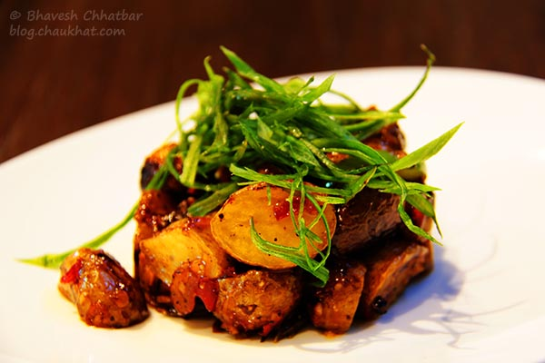 Thai Sweet Chili Baby Potatoes at Frisco, Koregaon Park, Pune