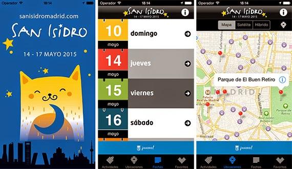Las Fiestas de San Isidro 2015 en tu móvil