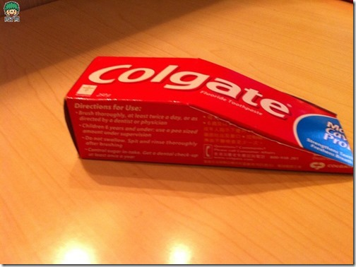 coche reciclado de caa de pasta de dientes (2)
