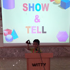 Show and Tell Activity by Nursery Afternoon Section at Witty World, Chikoowadi (2018-19)