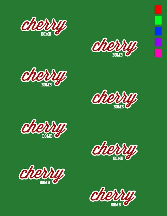 cherry bomb labels