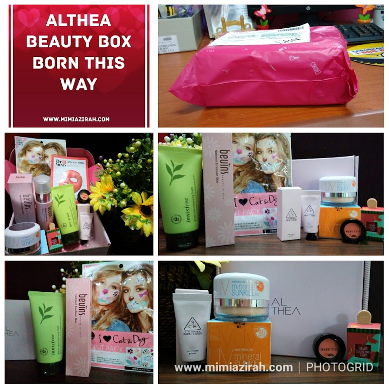 Unboxing Althea's Born This Way Beauty Box