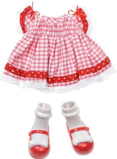 vestido rojo para cualquier Lalaloopsy