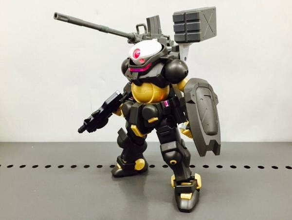 HG Build Custom 016 Ez-Arms