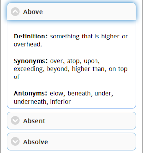 Synonym And Antonym Android Apps On Google Play