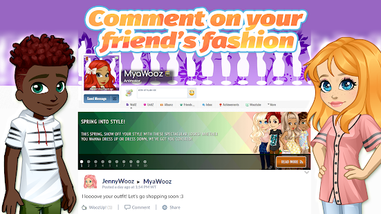 Woozworld - Fashion & Fame MMO - náhled