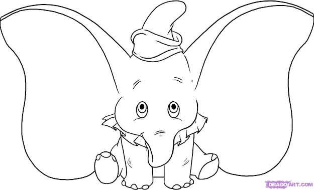 Elephant Coloring Pages On