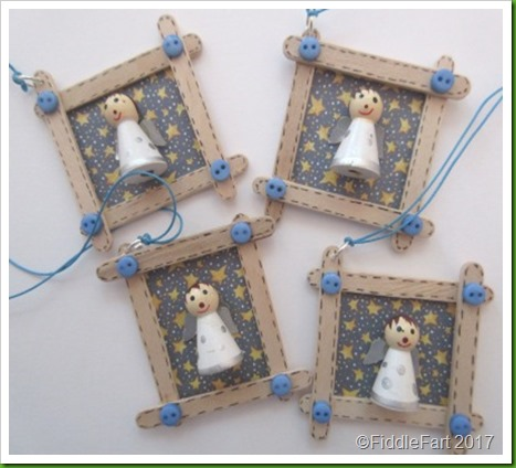 Angel Craft Stick Tags