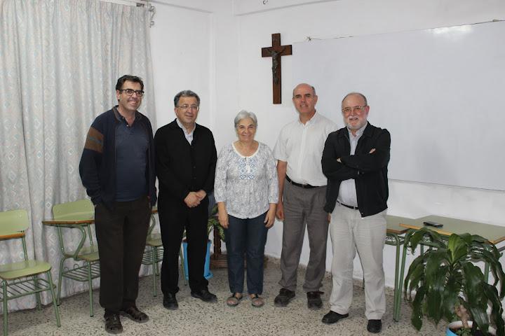 Compañeros de Teología en Cartuja de Granada 30 años después