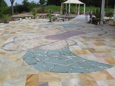 Terrasse en pierre naturelle photos de terrasses en pierre - Pierre naturelle terrasse ...