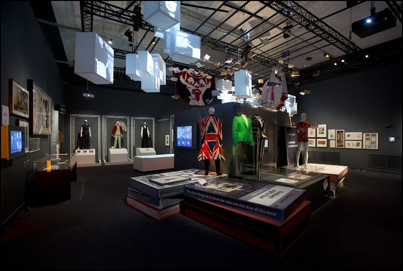 Installation Shot of David Bowie is at the V&A is courtesy David Bowie Archive (c) Victoria and Albert Museum, London(4)