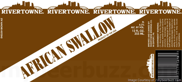Rivertowne African Swallow