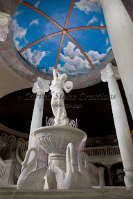 Fountains, Interior, Showroom, Statuary, Statues, Tiered