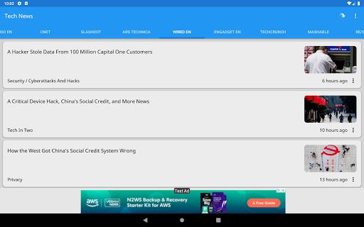 Tech News 1.9.1 Screenshots 8