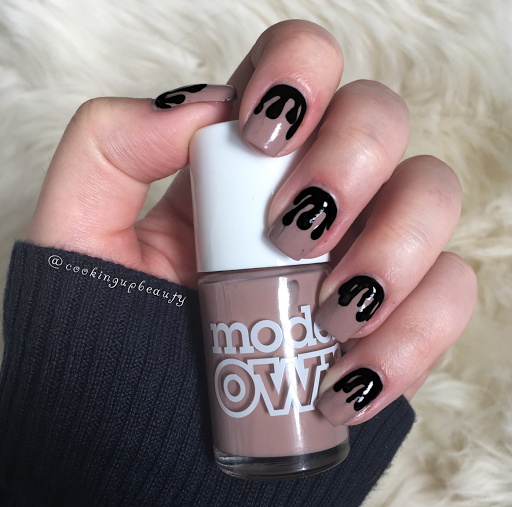 Cooking up beauty kylie lip kit inspired nail art kylie cosmetics last night and while i was debating on whether or not to place an order i was inspired to do some nail art instead prinsesfo Image collections