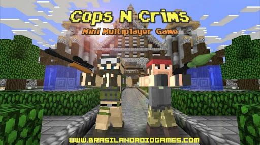 Cops N Crims : Mini Multiplayer FPS Game Imagem do Jogo