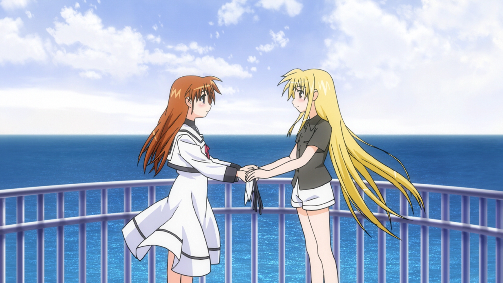 magical girl lyrical nanoha yuri