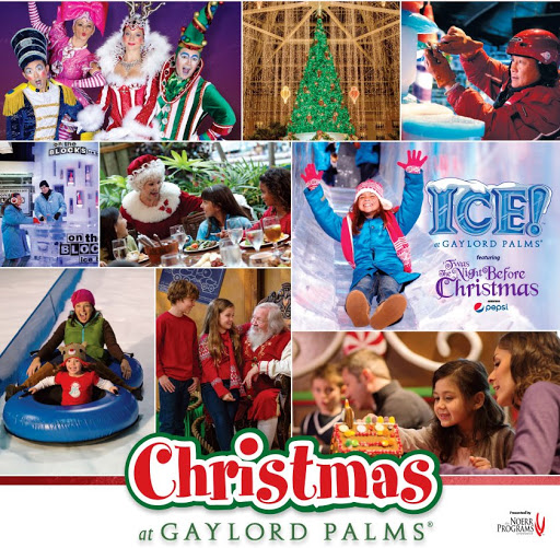 Christmas at Gaylord Palms … with ICE!
