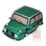 35. kép: Formatorták (fiúknak) - Mercedes terepjáró formatorta