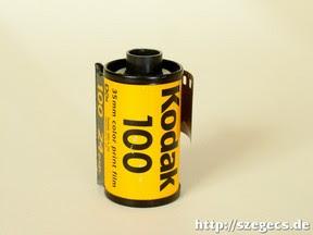 Ismeretlen lejáratú Kodak Gold 100/24