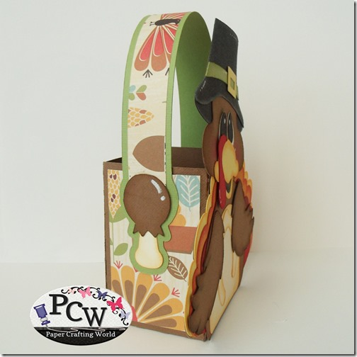 SVG Turkey Treat Box