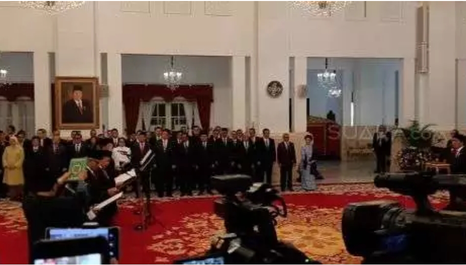 Teka Teki Dewan Pengawas KPK Resmi Terpecahkan, Jokowi Lantik 5 Dewan Pengawas