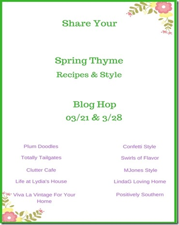 1-Share Your (4)Spring blog hop