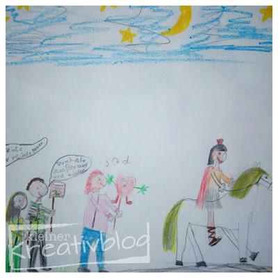 Sankt Martin: Kinderkunstwerk