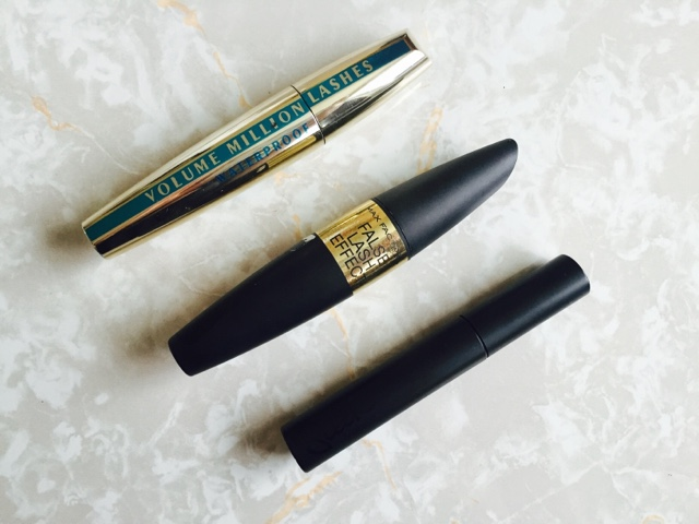 Mascara, L'Oreal, Max Factor, Sleek, favourites, 2016, beauty,