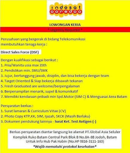 Lowongan Kerja Indosat