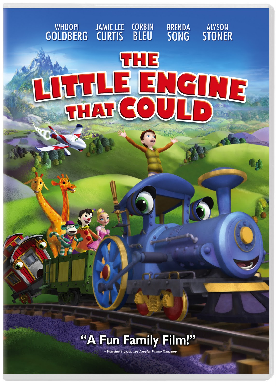 The Little Engine That Could Now Available On Dvd
