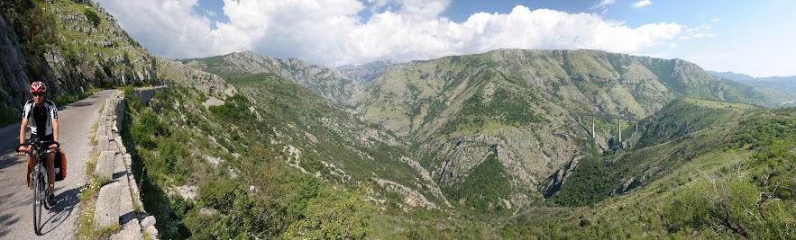 Beeindruckende Schlucht des Mala Rijeka