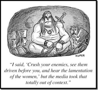 Conan cartoon, Peter Kuper, New Yorker