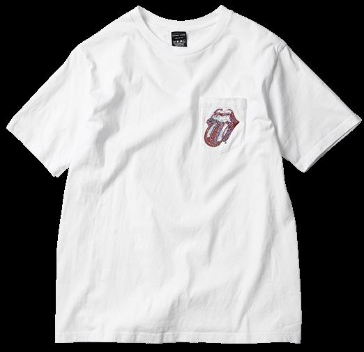 *滾石樂團 50周年:六大日本品牌推Lips And Tongue T-shirt 12