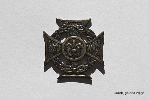 Krzyż harcerski.