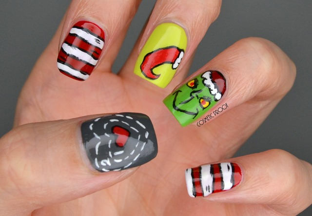 Christmas Grinch Nail Art Essence (1)