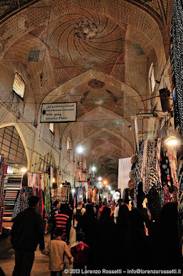 Il bazar di Shiraz